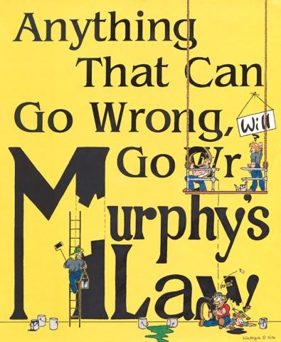 Curiosidades: la Ley de Murphy inmobiliaria en el día a día