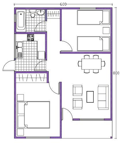 Diferencias entre metros cuadrados tiles y construidos for Disenar mi habitacion 3d