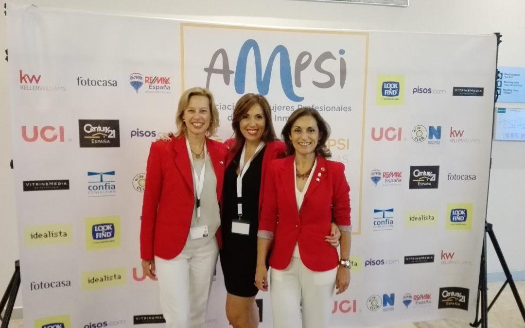 V Congreso de AMPSI, Asociación de Mujeres Profesionales del Sector Inmobiliario