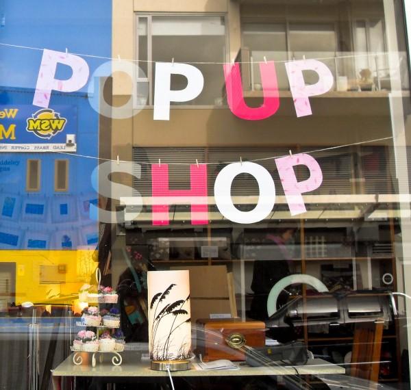 De compras en casas particulares: alquiler para tiendas pop-up