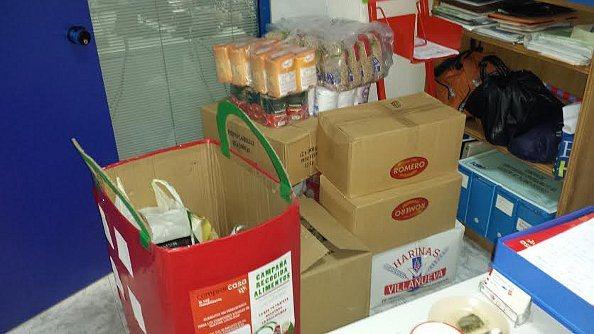 Nuestra campaña solidaria en cifras: 256 kilos de alimentos y más de 400 euros