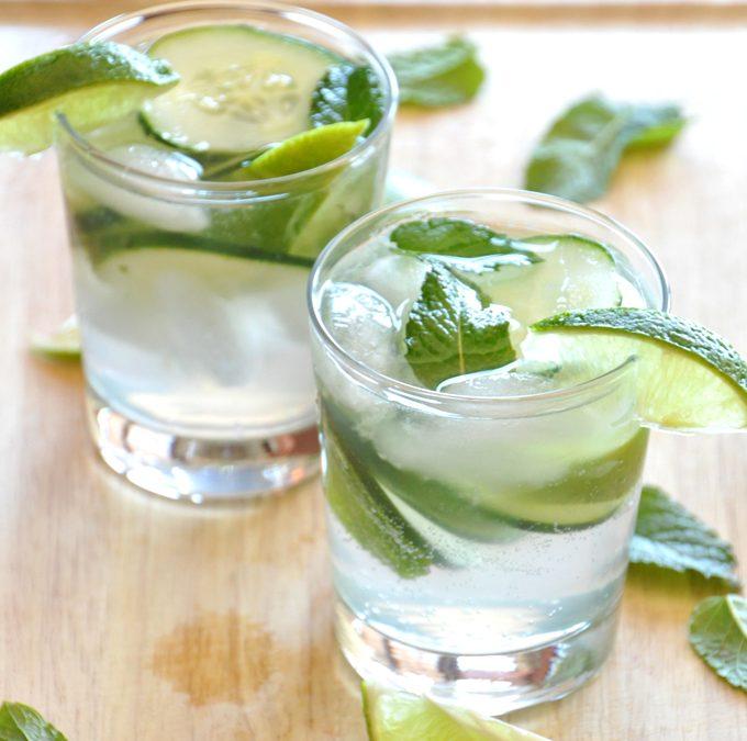 Gin tonic clásico y fresco para el verano