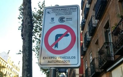Si voy a un comercio dentro de Madrid Central, ¿puedo entrar con mi coche?
